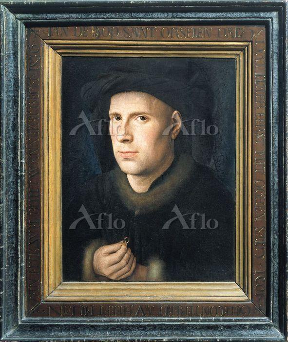 ヤン・ファン・エイク 「ヤン・ド・レーウの肖像」