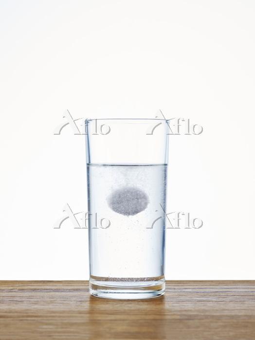 水に溶ける薬