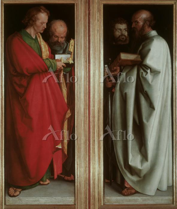 アルブレヒト・デューラー 「四人の使徒」