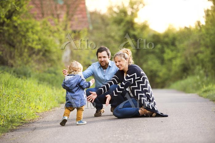 外国人家族