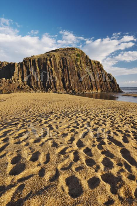 京都府 後ヶ浜海岸 立岩の朝