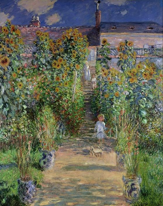 クロード・モネ 「ヴェトゥイユの画家の庭」