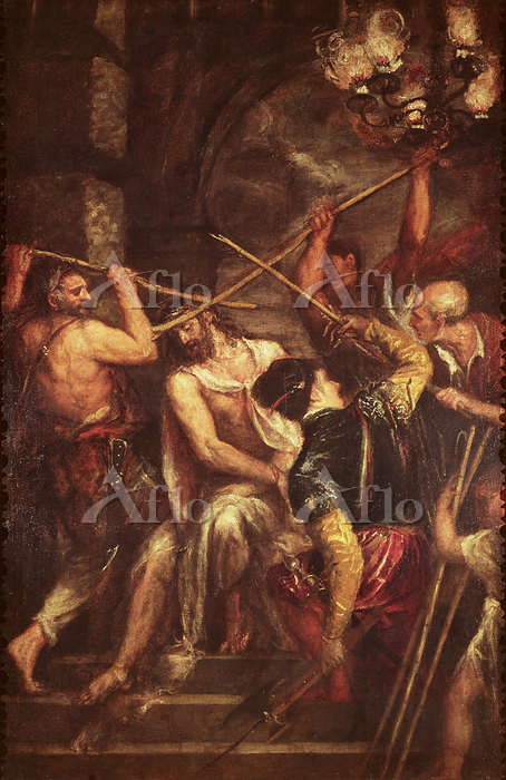 ティツィアーノ 「荊冠のキリスト」