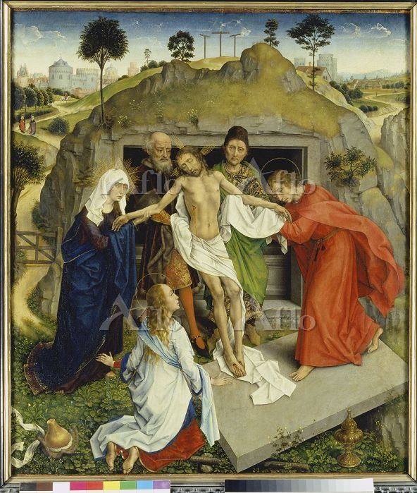 ウェイデン 「キリストの埋葬」