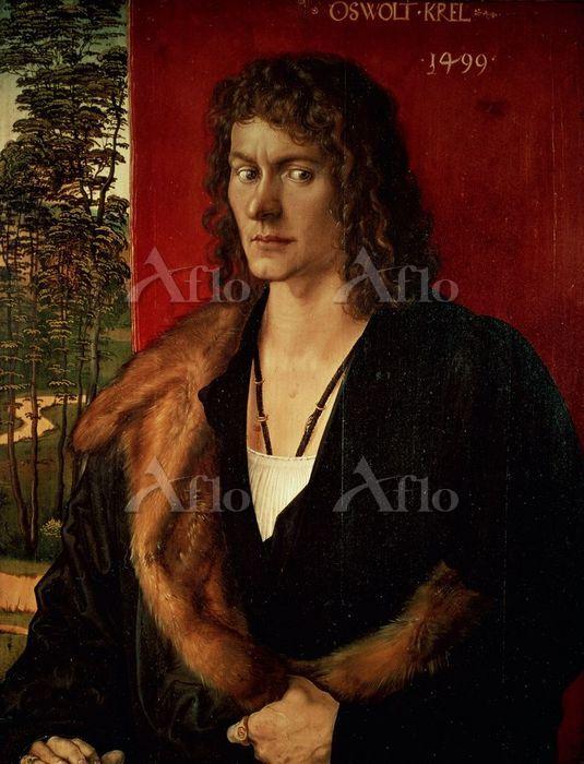 アルブレヒト・デューラー 「オスヴェルト・クレルの肖像」