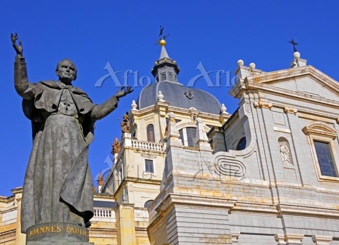 Statue of Pope John Paul II, C・・・
