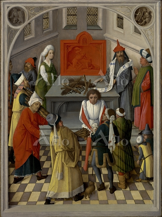 The offering of the jews, ca 1・・・