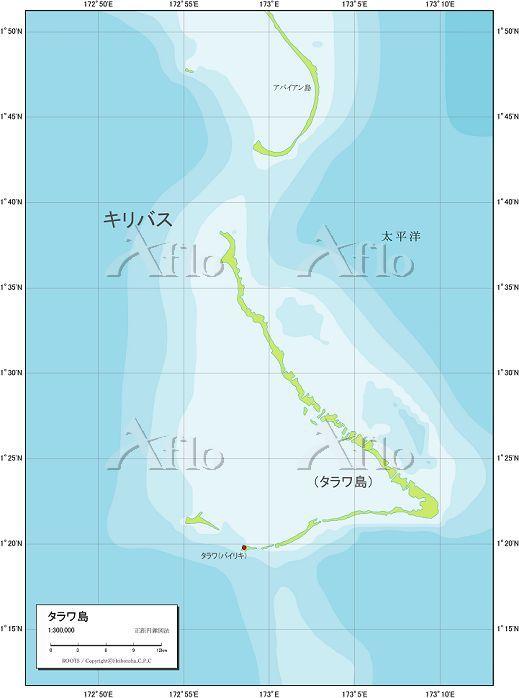 タラワ 自然図
