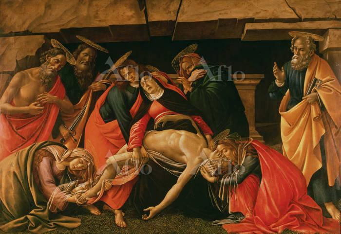 ボッティチェリ 「キリストの死の哀悼」