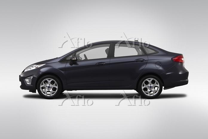 2012 Ford Fiesta SEL in Purple