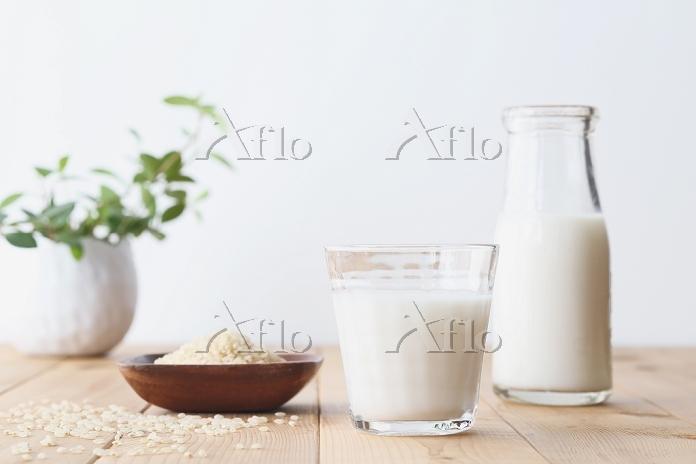 玄米のライスミルク