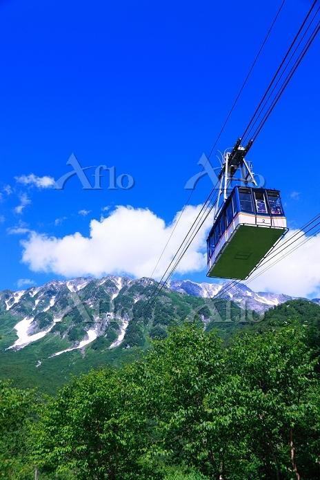 富山県 立山ロープウェイ 大観峰遠望