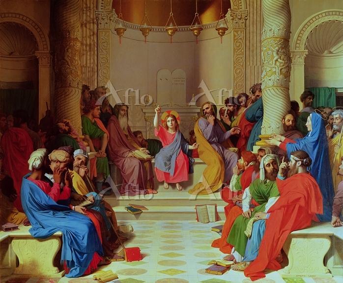 アングル 「博士たちと議論するキリスト」