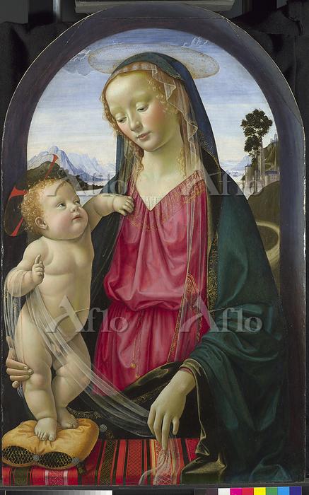 ドメニコ・ギルランダイオ「聖母子」