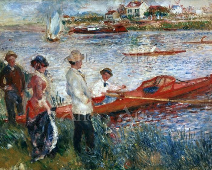 ルノワール 「シャトーの舟漕ぎたち」