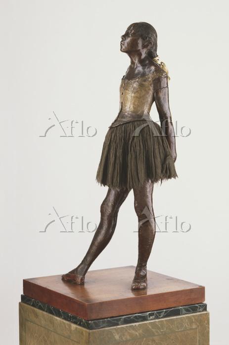 ドガ「バレリーナの蝋人形」
