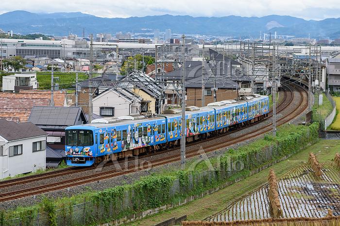京阪交野線 京阪電車きかんしゃトーマス号2020