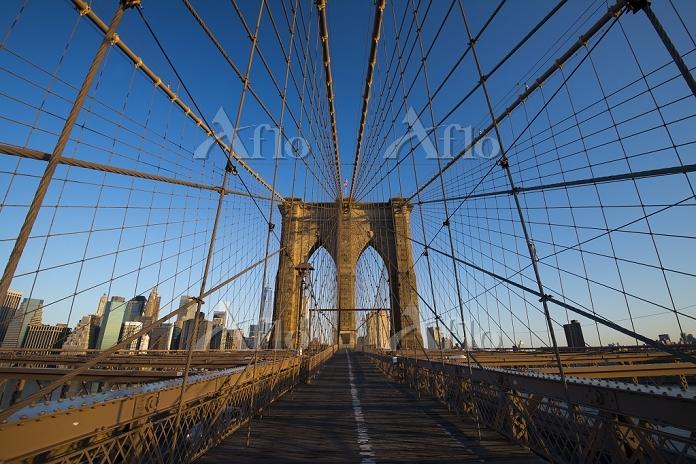 アメリカ合衆国 ニューヨーク ブルックリンブリッジ