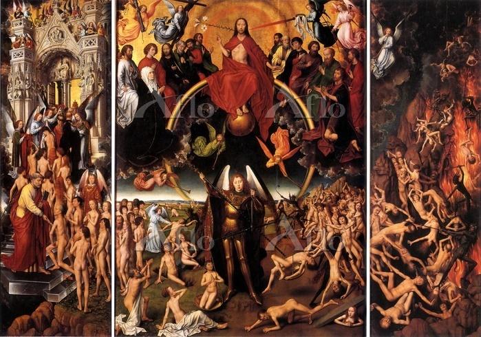 ハンス・メムリンク 「最後の審判(三連祭壇画」
