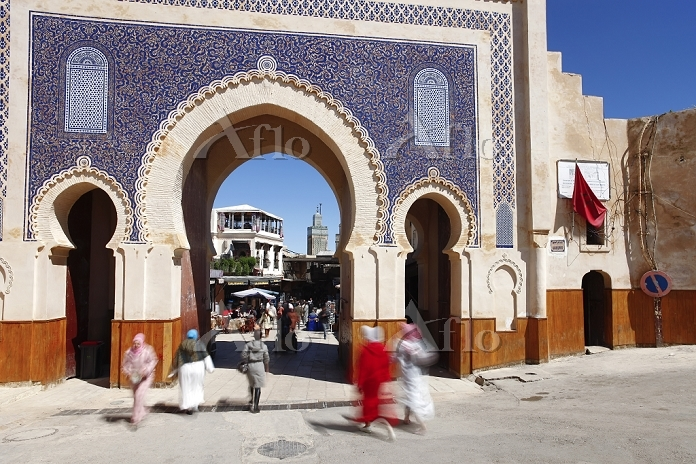 Entrance to the Medina, Souq, ・・・