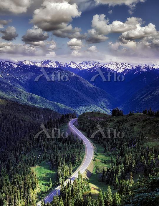 Road to Hurricane Ridge. Olymp・・・