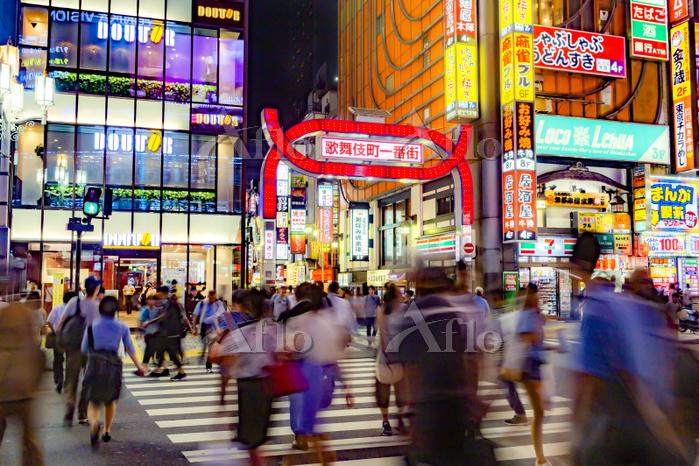 東京都 新宿区 歌舞伎町 夜景