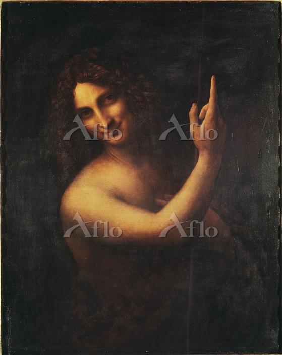 レオナルド・ダ・ヴィンチ 「洗礼者聖ヨハネ」