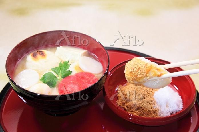 奈良県 きなこ雑煮