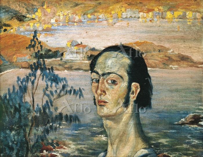 サルバドール・ダリ 「ラファエロ風の首をした自画像」