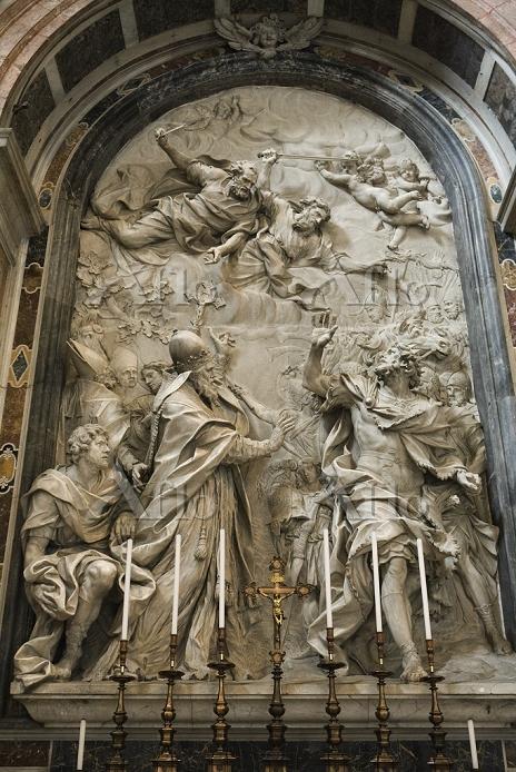 バチカン市国 サン・ピエトロ大聖堂 教皇レオ1世の祭壇