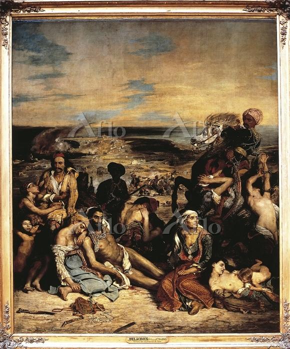 ドラクロワ 「キオス島の虐殺」