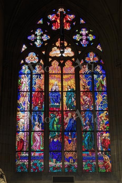 チェコ プラハ 聖ヴィート大聖堂 プラハ城