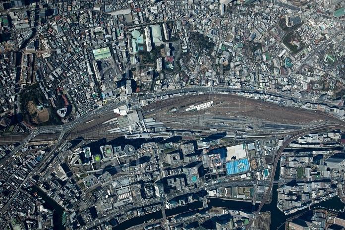 東京都 品川駅周辺 高度3,000m