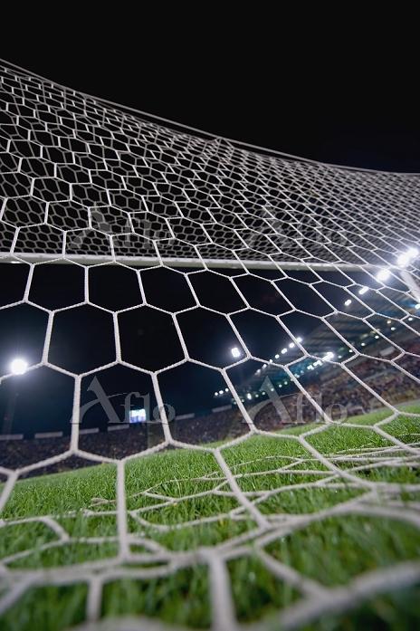 Franchi soccer Stadium goal ne・・・