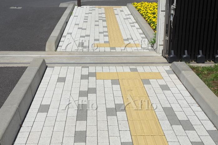 埼玉県 スラグを使った歩道舗装