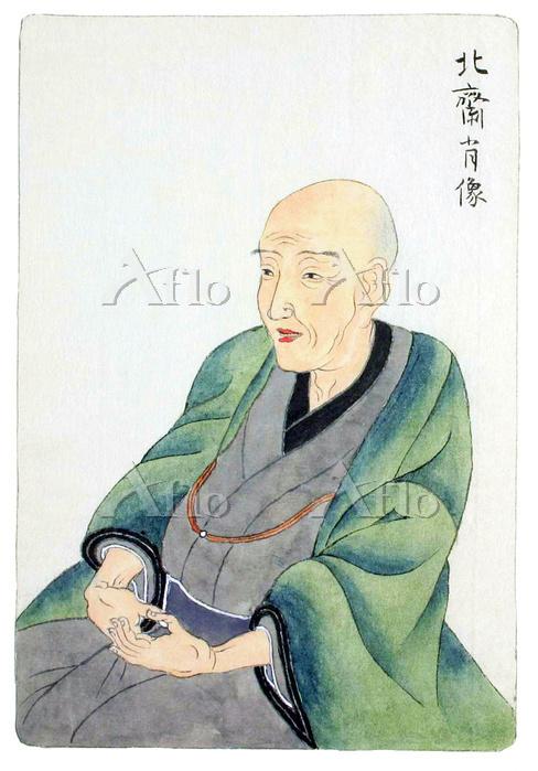 葛飾北斎の肖像