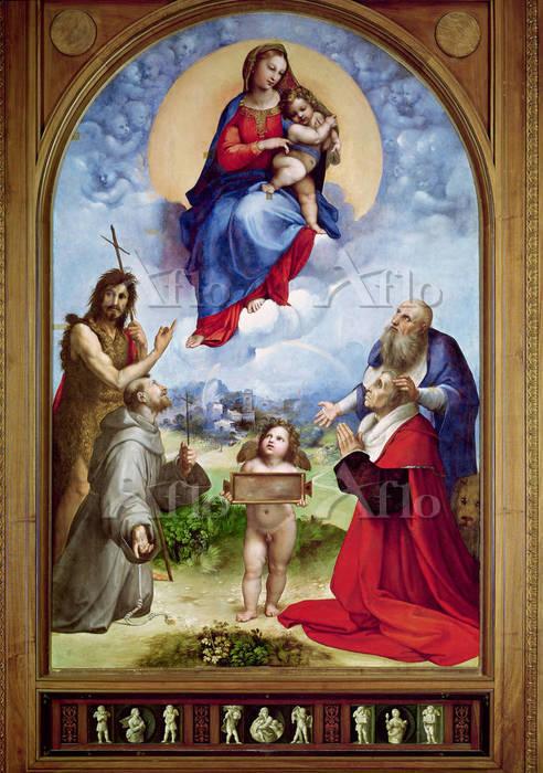 ラファエロ 「フォリーニョの聖母」