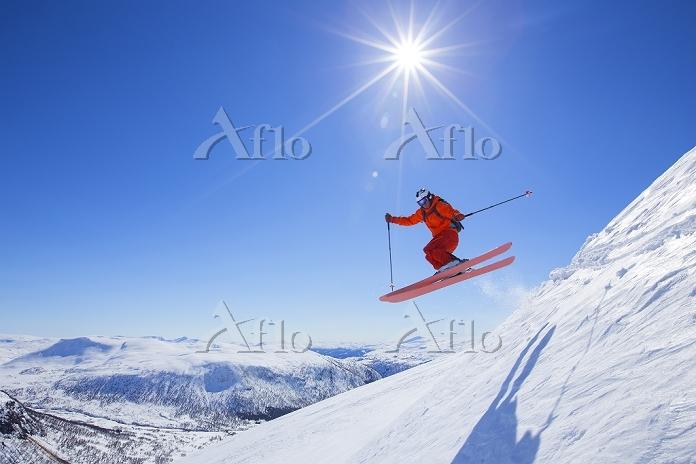 ノルウェー スキーヤー