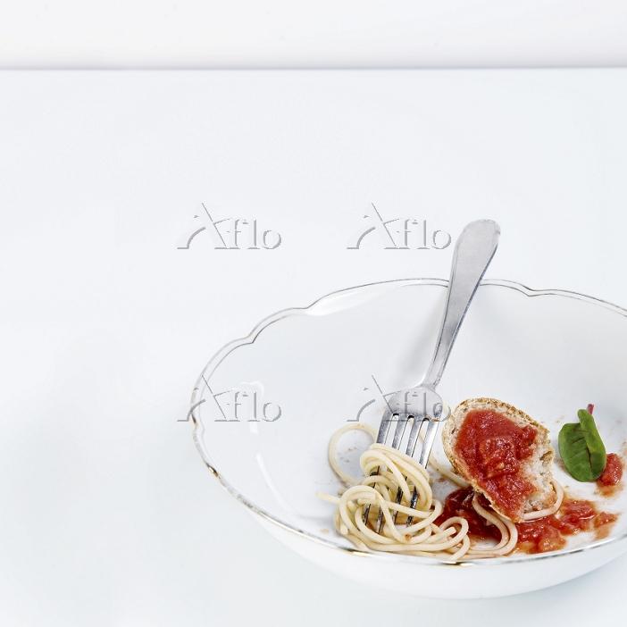 Spaghetti with tomato ragout a・・・