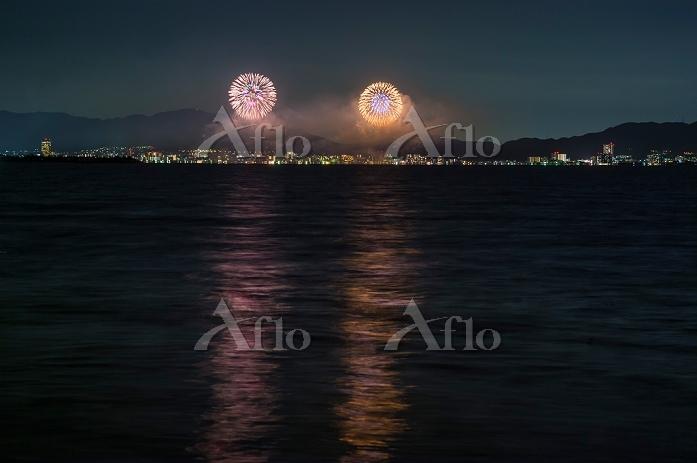滋賀県 2012びわ湖大花火大会