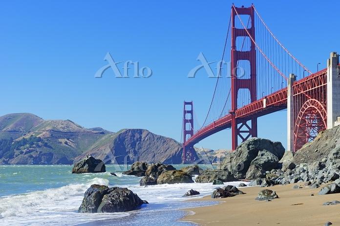 アメリカ合衆国 サンフランシスコ ゴールデンゲートブリッジ