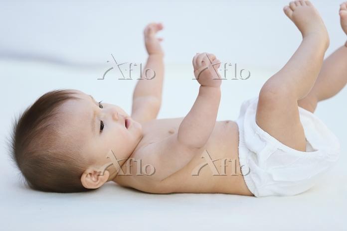 ハーフの赤ちゃん
