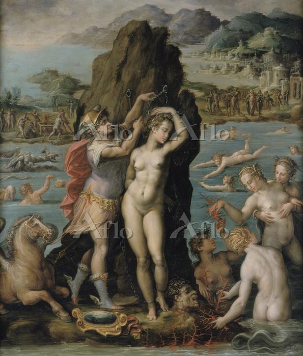 ヴァザーリ 「アンドロメダを救うペルセウス」