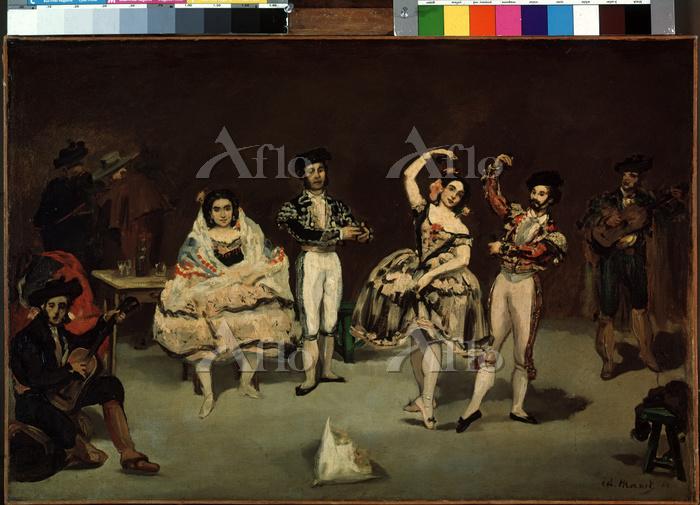 マネ「スペイン舞踊」