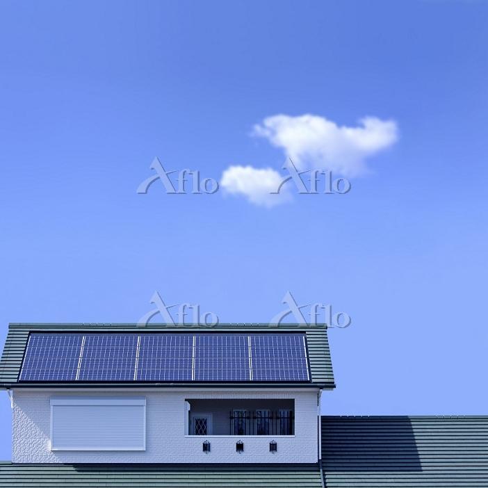 太陽光発電の住宅