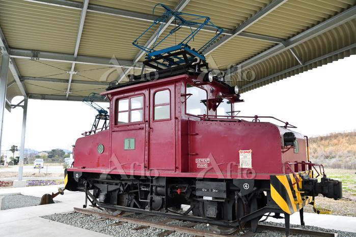 福岡県 三井三池炭鉱三川坑専用鉄道20トン級B形1号電気機関・・・