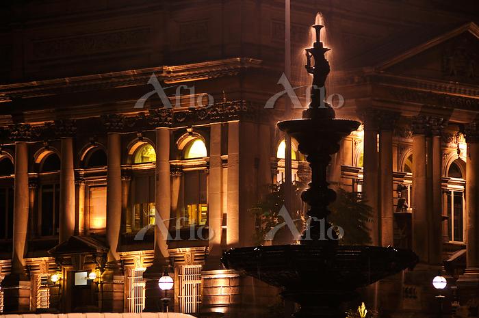 イギリス リヴァプール夜景