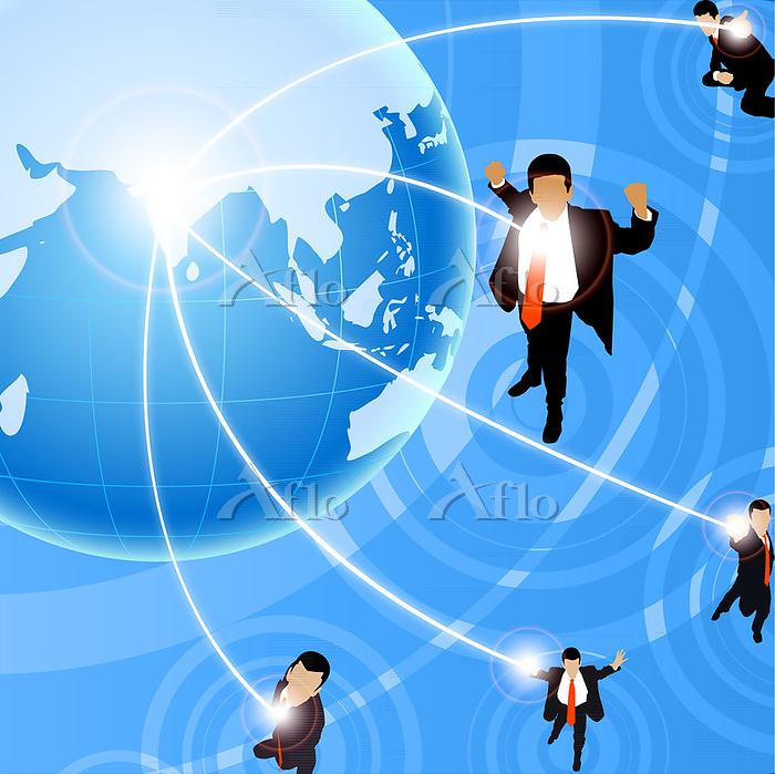 Illustration of global busines・・・