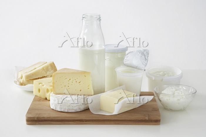牛乳とチーズ