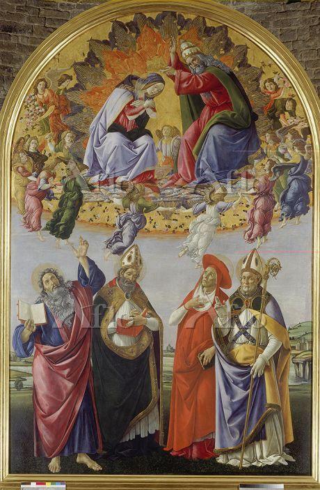 ボッティチェリ 「サン・マルコ祭壇画」